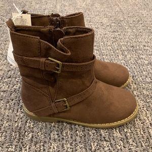 Old Navy Toddler Girls Boots w/Zipper 10